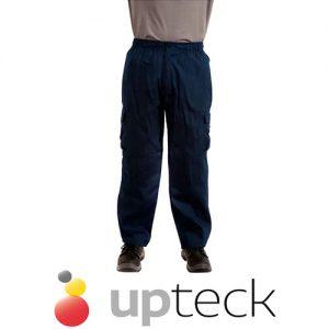 Pantalón Poplin Azul 2